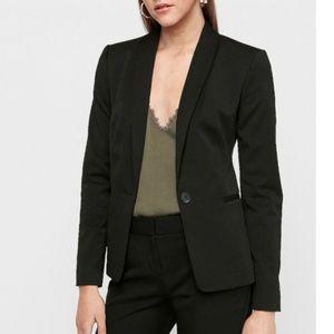 Women's one button blazer